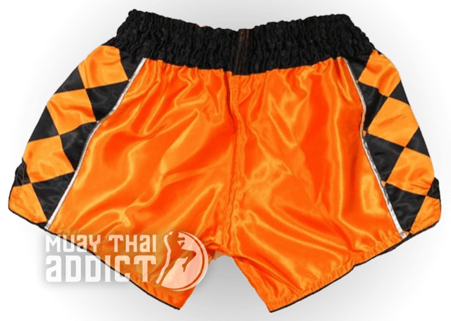 Joker Orange Muay Thai Shorts