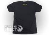 Koa Warrior Tee - Black/Gold