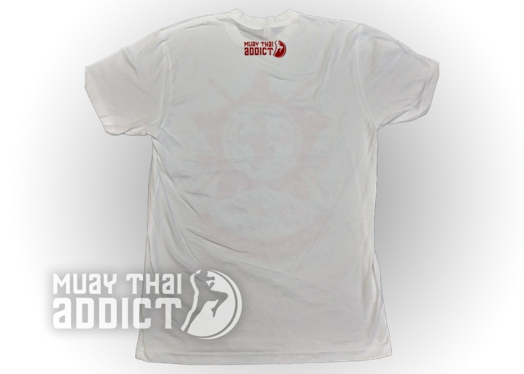 Koa Warrior Tee - White/Red