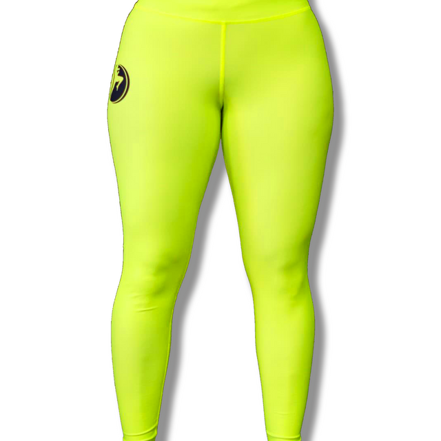 MTA Stance Compression Spats - Shocking Green