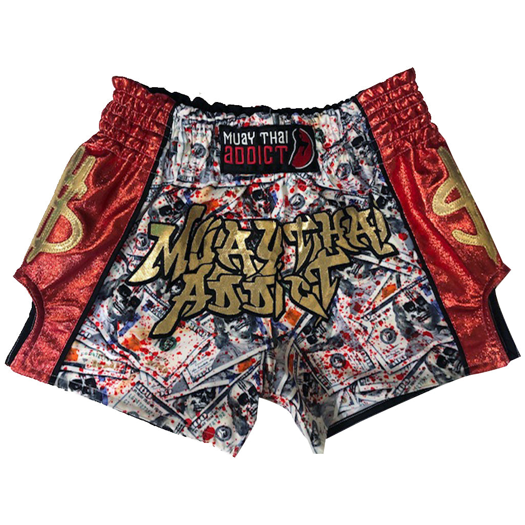 Blood Money Muay Thai Shorts