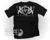 Lion Fight Grey Lion T-Shirt