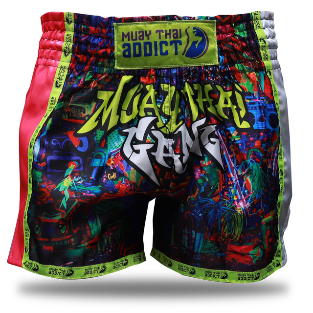 Muay Thai Gang Shorts - Pink