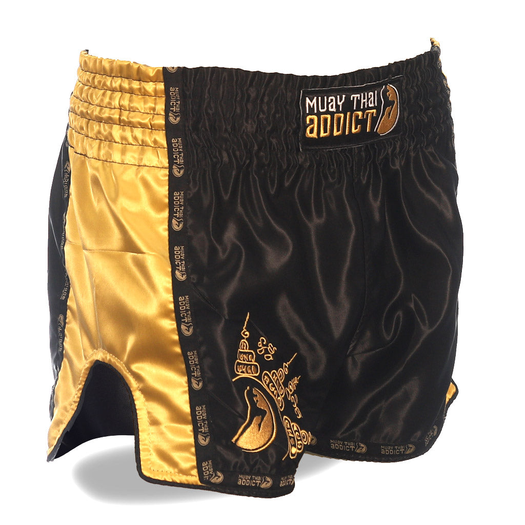 Protector Muay Thai Shorts - Gold