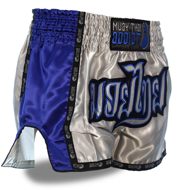 Azure Steel Muay Thai Shorts