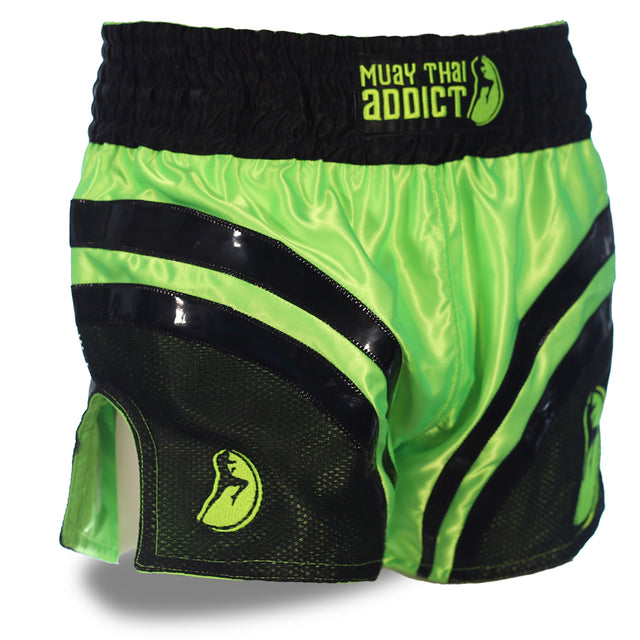 Green Hornet Muay Thai Shorts