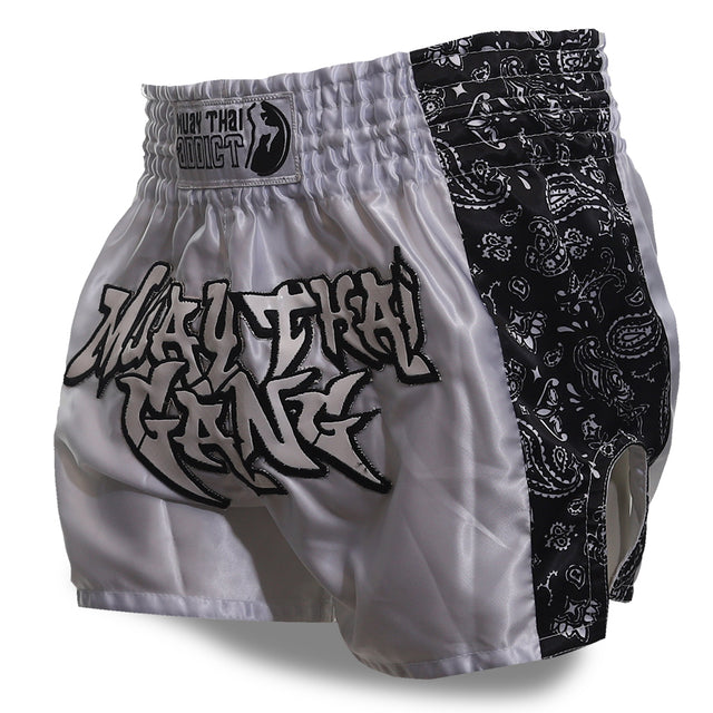 MTG Paradise Muay Thai Shorts - White