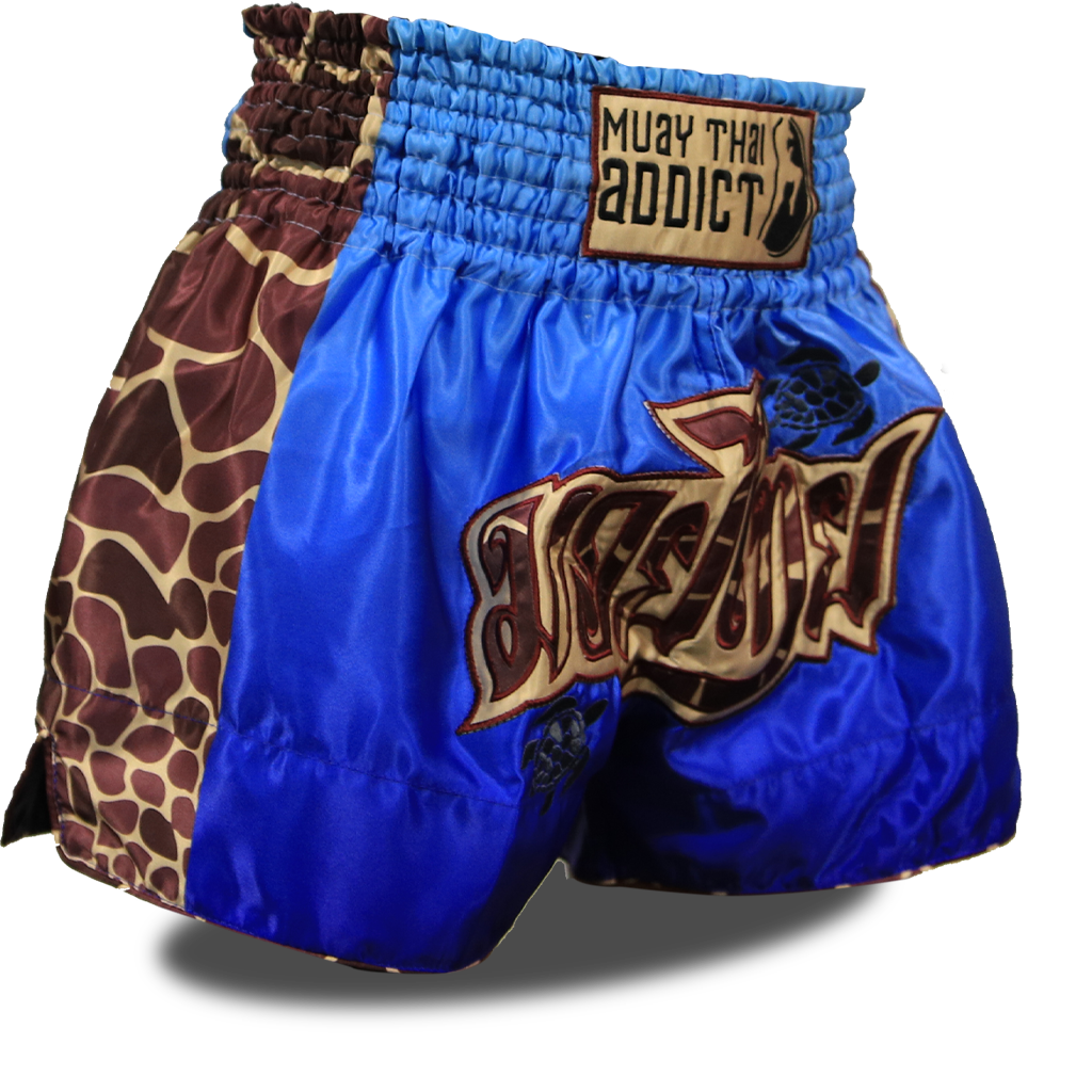 Save the Turtles Muay Thai Shorts