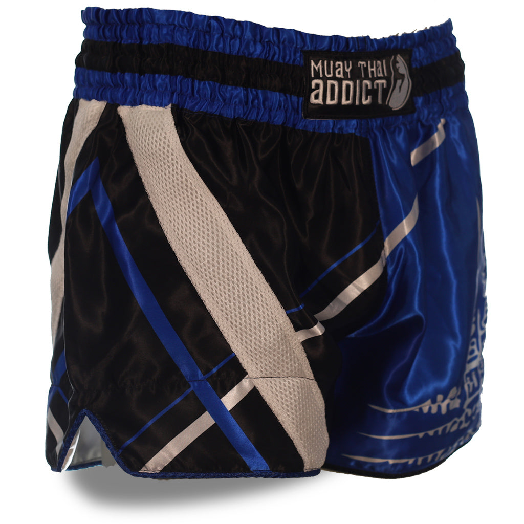 Kao Yod Shorts  - Blue and Black