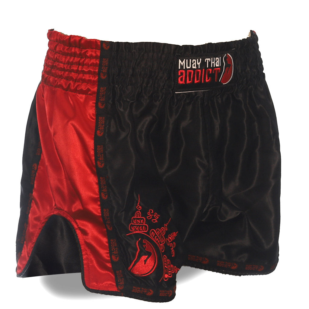 Protector Muay Thai Shorts - Red