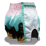 Ice Cream Drip Muay Thai Shorts