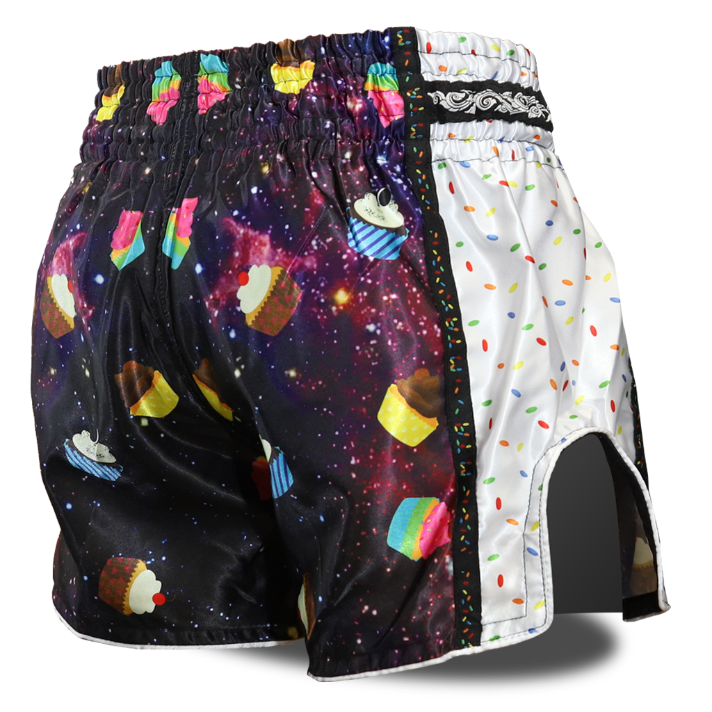 Cosmic Cupcakes Muay Thai Shorts
