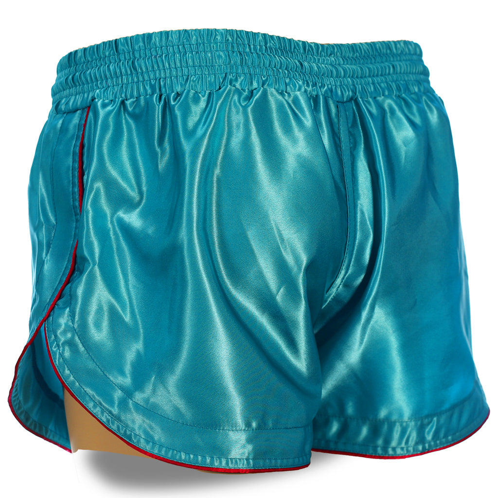 Ocean Blue Retro Muay Thai Shorts