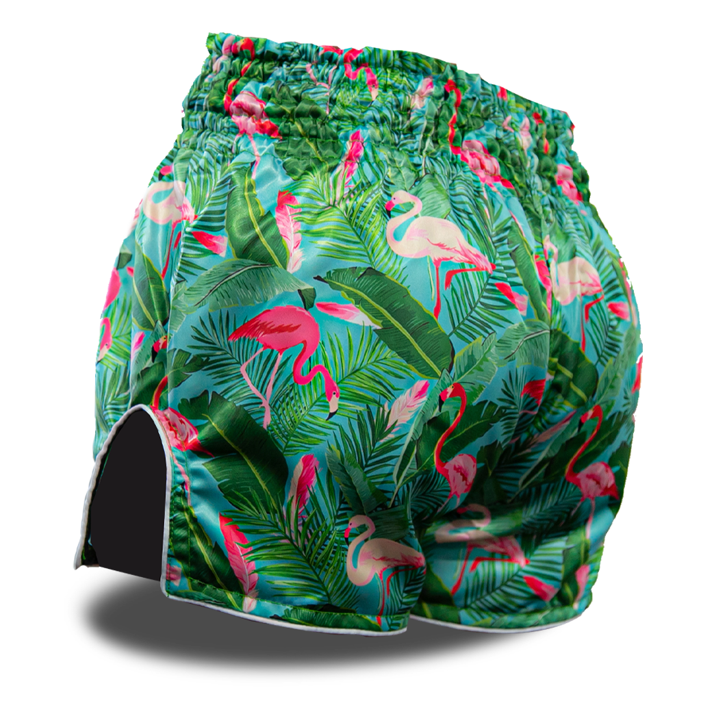 Flamingo Garden Muay Thai Shorts