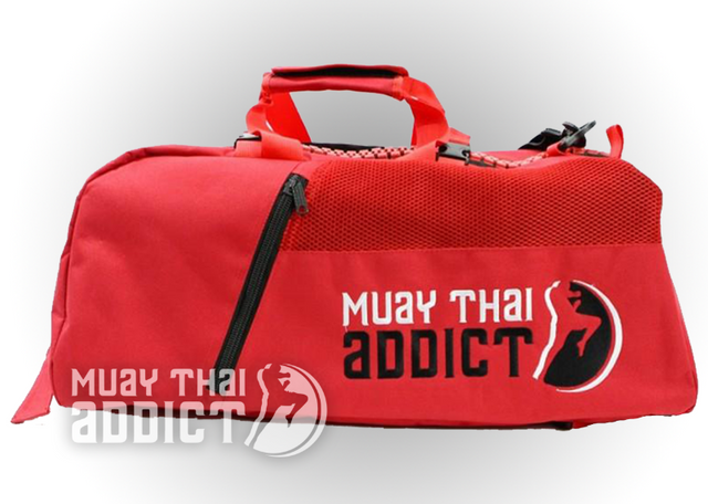 Red MTA Gym Bag