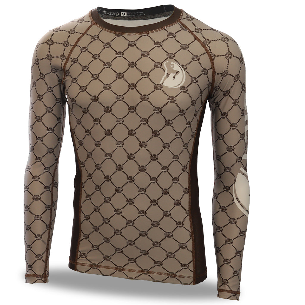 MTA Rash Guards - Beige