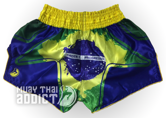 República Federativa do Brasil Muay Thai Shorts