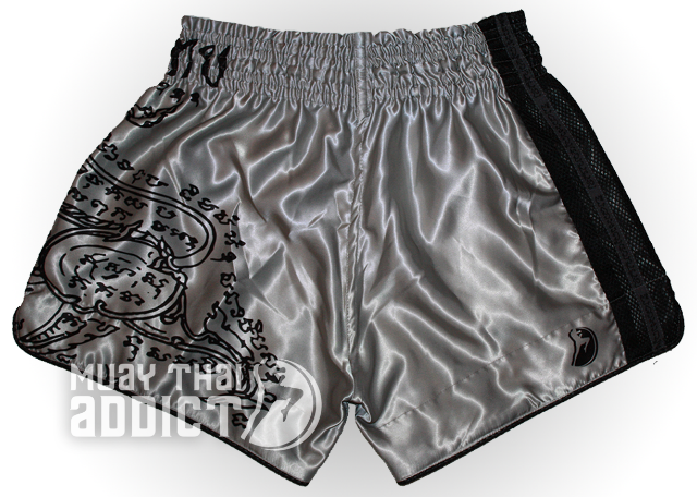 Phaya Rachasi Shorts - Black on Grey