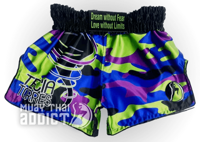"Tecia ""Tiny Tornado"" Torres Signature Series Muay Thai shorts"
