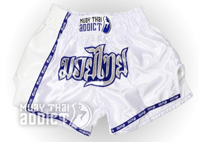 White Walker Muay Thai Shorts