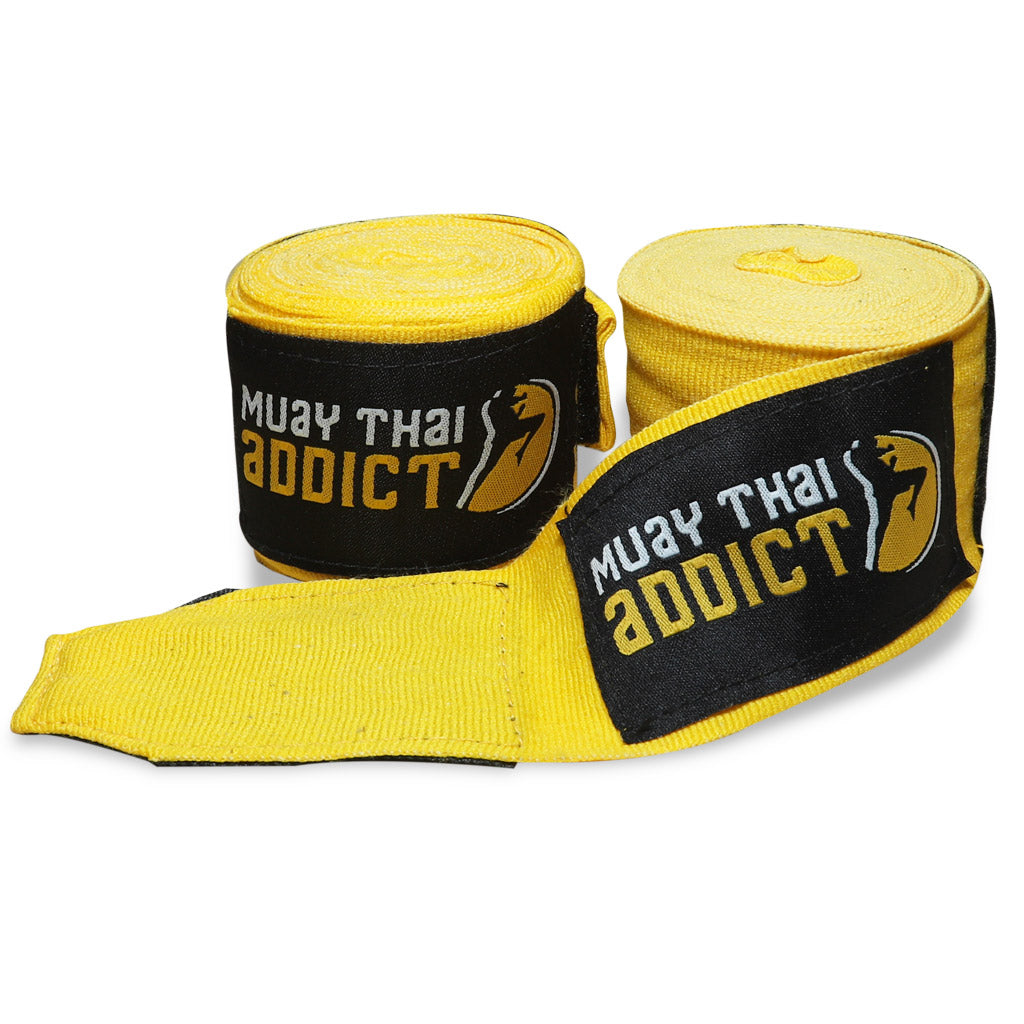 Yellow MTA Hand wraps