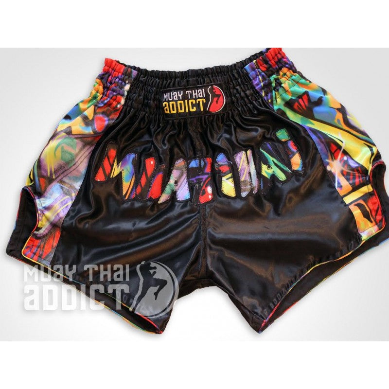 Muay Thai Graffiti shorts
