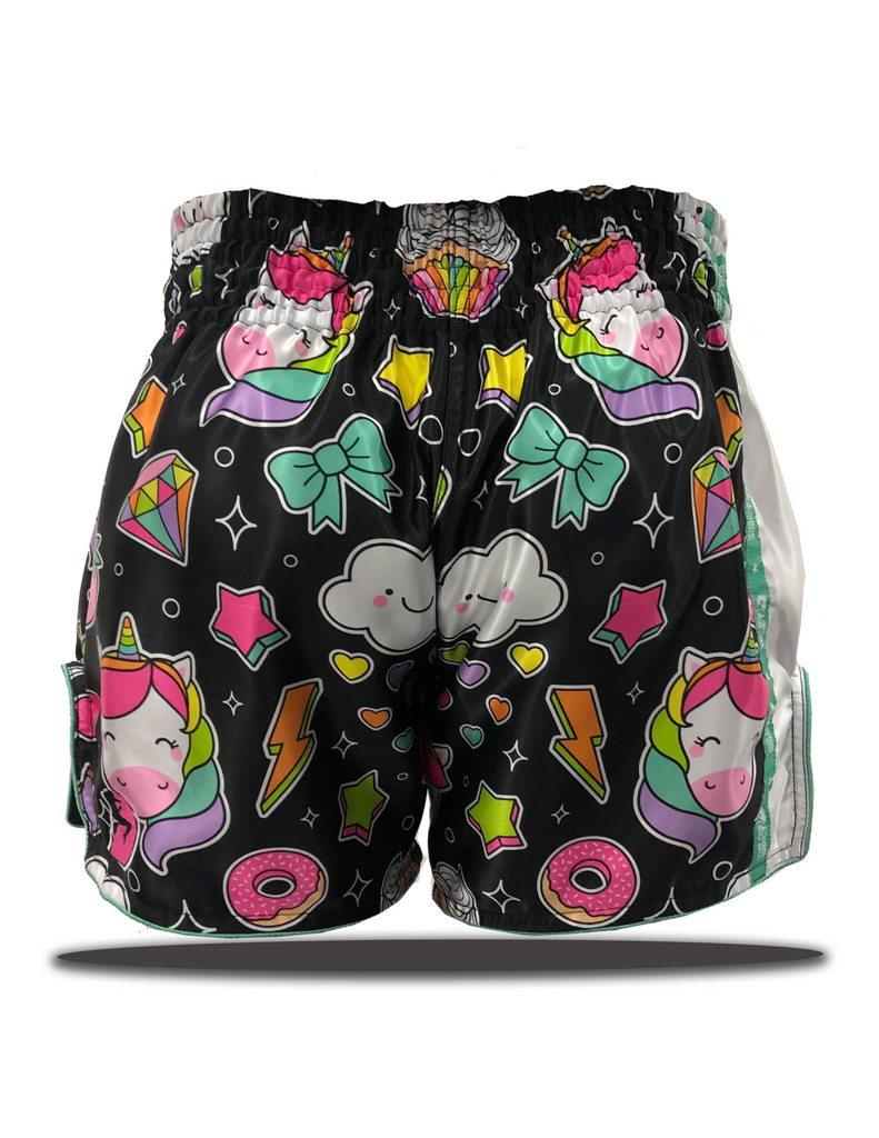 Starlight Unicorn Muay Thai Shorts Pre Order