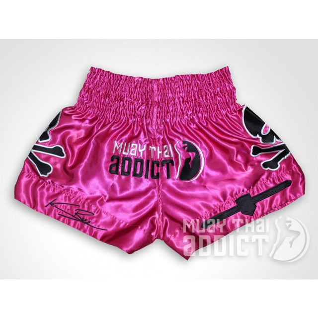 Pink Kevin Ross Muay Thai Shorts