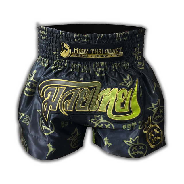Gold Crown Collector Muay Thai Shorts