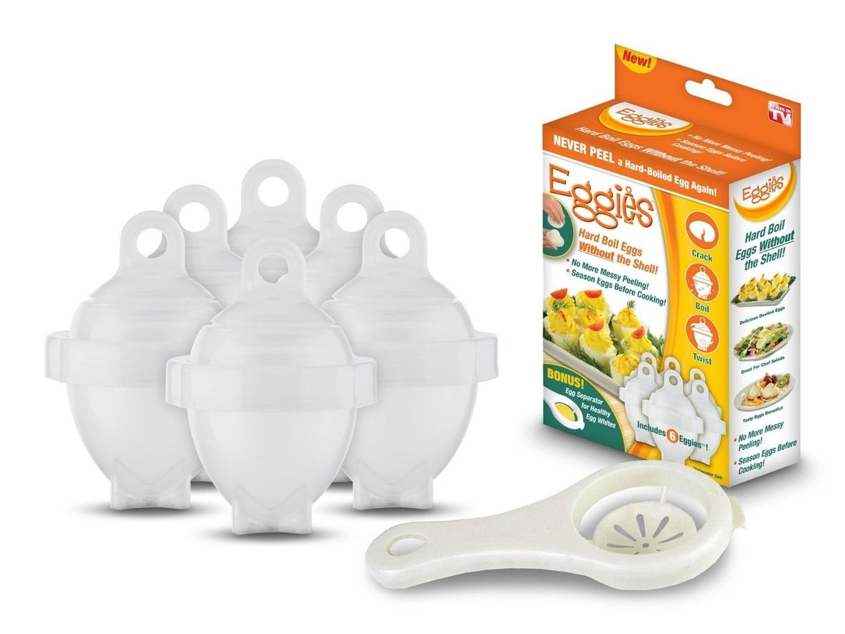 Eggies Egg Maker (6 Pack)