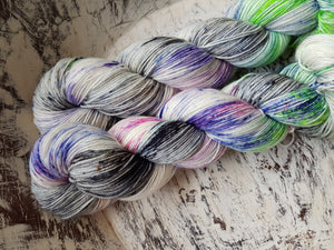 Ready Steady Go! - Skinny Sock - fingering weight 4 ply