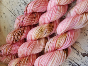 Rose - Skinny Sock Minis - fingering weight 4 ply