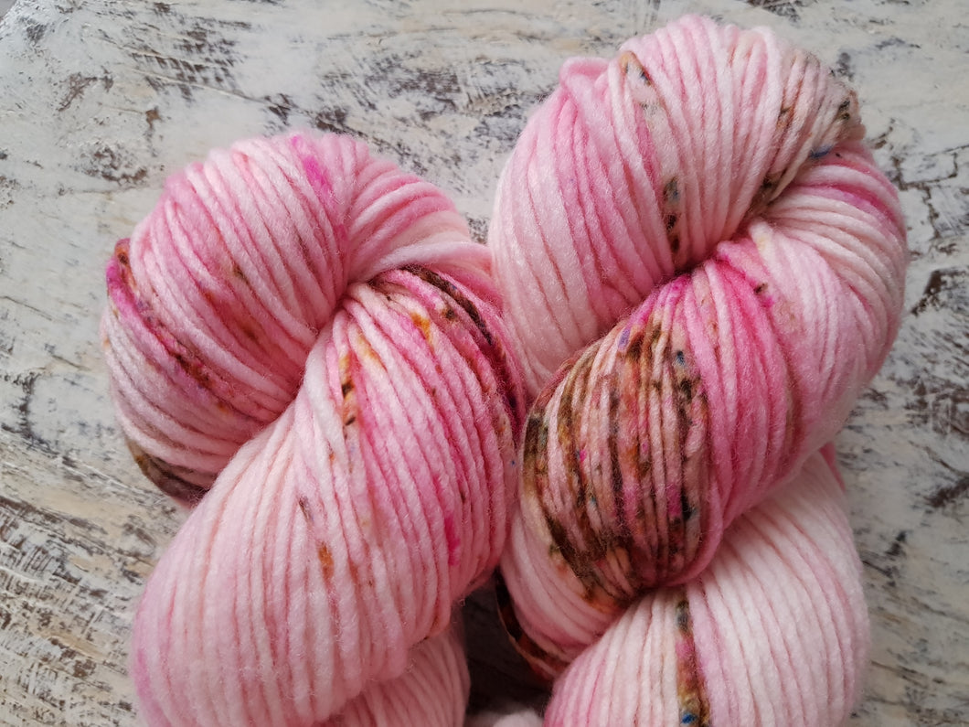 Rose - Chunky Merino - Worsted weight - single ply