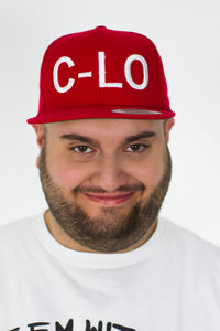 "Red ""C-Lo"" Snapback"