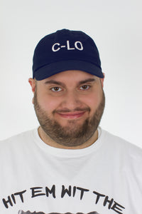 "Navy Blue ""C-Lo"" Dad Hat"
