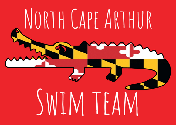 2021 North Cape Arthur Swim Team
