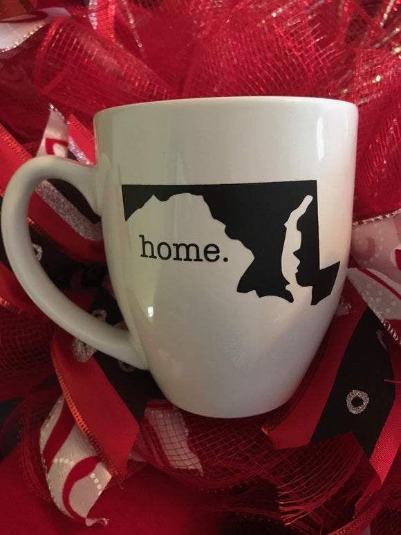 Maryland Custom Coffee Mug, Create your Maryland Coffee Mug Gift