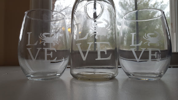 Maryland Glass Set -