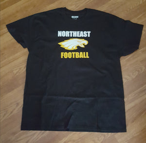 Northeast Eagles Football T Shirt (local orders)