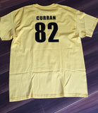 GOLD Northeast Football T Shirts