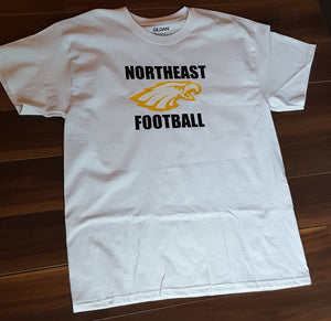White - Northeast Football shirt