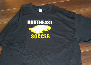 Northeast Eagles Soccer T Shirt (local orders)