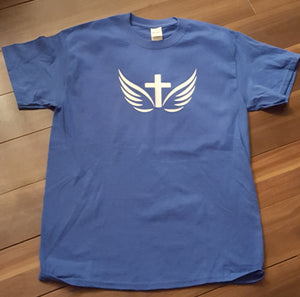 Crucifix with dove wings T Shirt