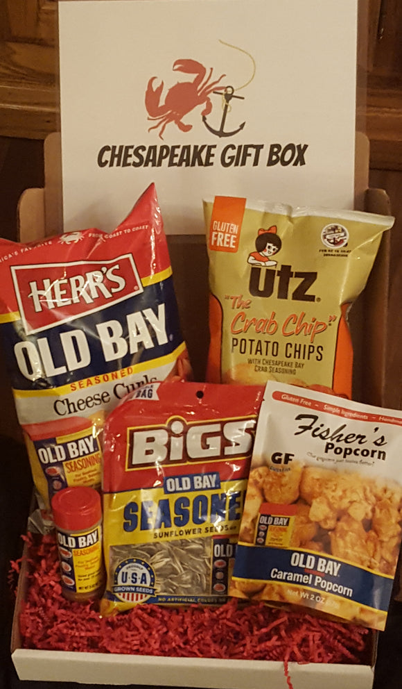 Old Bay Overdose !!! - Chesapeake Gift Box Co/ Baltimore Gift/ Maryland Gift