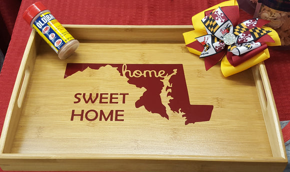 Maryland Home Sweet Home Serving Tray