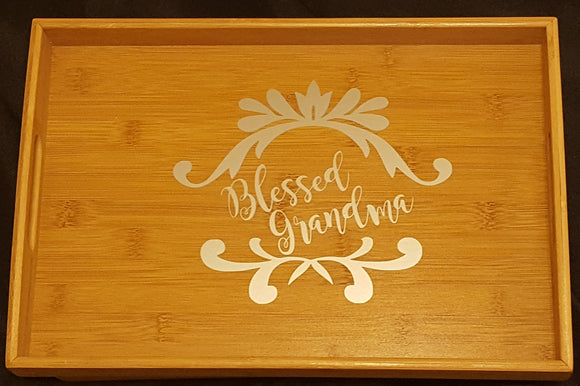 Blessed Grandma Serving Tray
