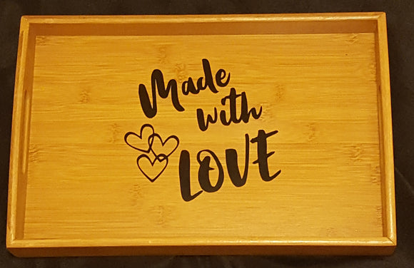 Made With Love Serving Tray