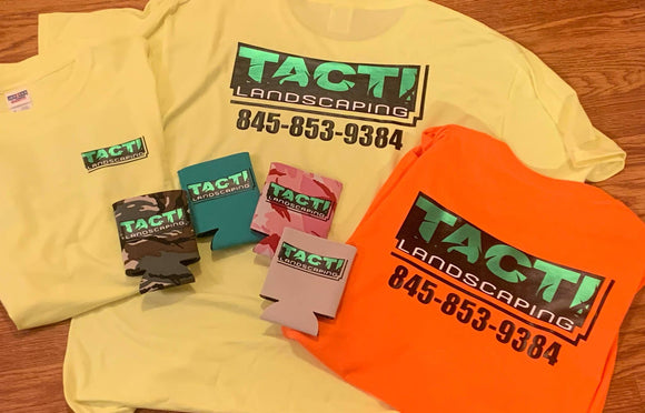TACTI LANDSCAPING T SHIRTS