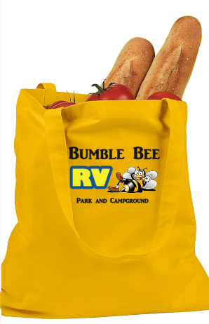 Bumble Bee Tote Bag - Yellow