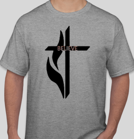 BELIEVE CRUCIFIX - Unisex T Shirt